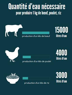 eau et production