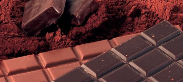 Poudre d cacao et tablettes de chocolat